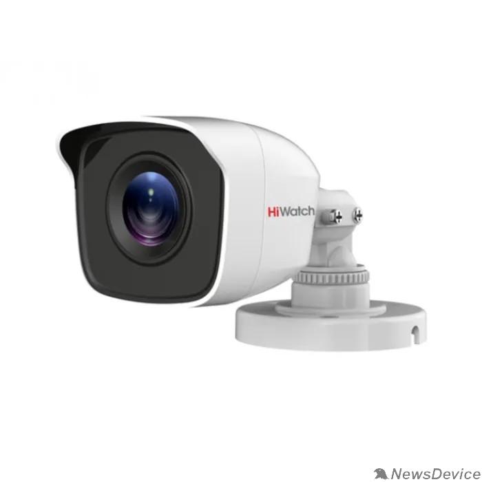 Видеонаблюдение HiWatch DS-T200(B) (2.8 mm) Камера видеонаблюдения 2.8-2.8мм HD TVI цветная корп.:белый
