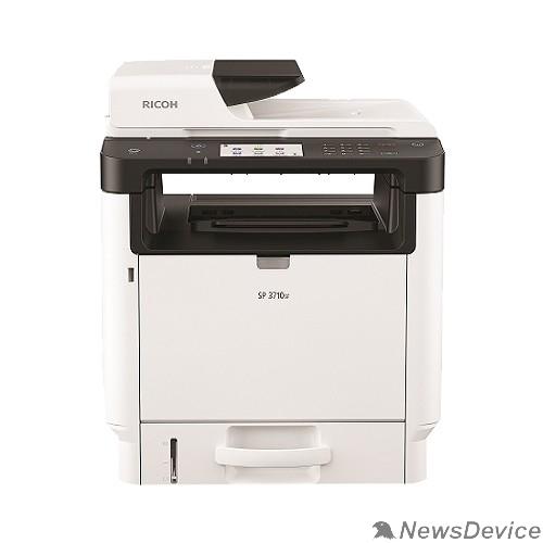 Принтер Ricoh SP 3710SF МФУ, A4, 256Мб, 32стр/мин, дуплекс, ARDF35, сенс.экран, факс, PS, LAN, старт.картр.7000стр.(408267)