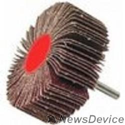 """Оснастка ЗУБР Круг шлифовальный """"МАСТЕР"""" веерный лепестковый, на шпильке, тип КЛО, зерно-электрокорунд нормальный, P80, 15х30мм 36600-080"""