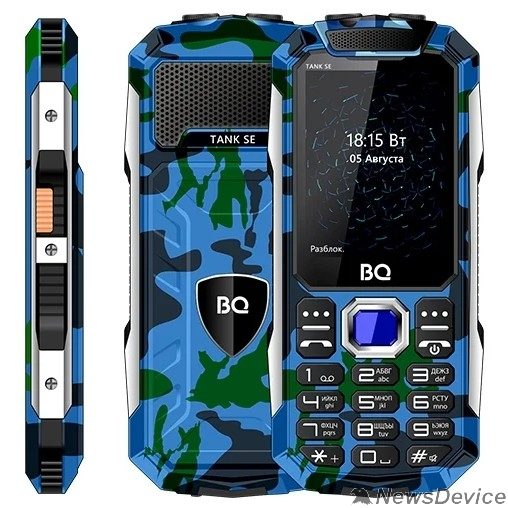 Мобильный телефон BQ-2432 Tank SE Камуфляж