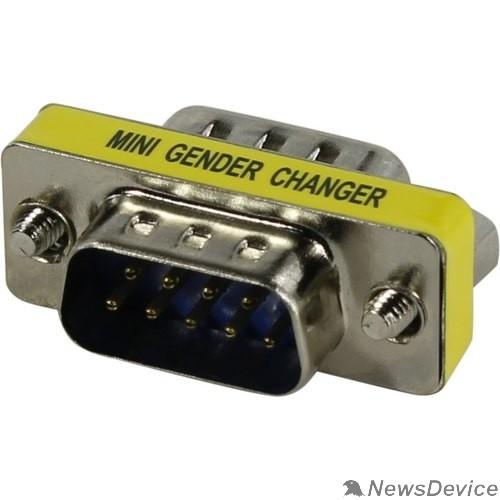 Переходник ORIENT C808, Переходник разъема COM RS232 DB9M - DB9M (30808)