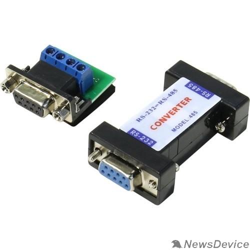 Переходник ORIENT C991, конвертер RS232 DB9F to RS485 DB9M + клемник винтовой 4 pin (29991)