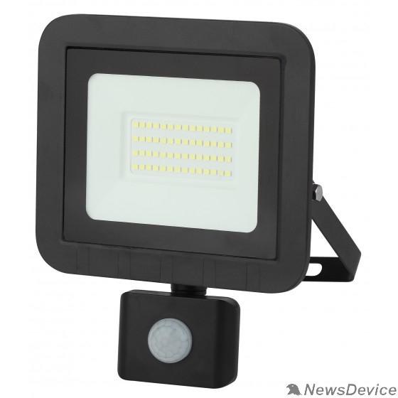 Прожекторы, светильники для уличного освещения ЭРА Б0043587 Прожектор светодиодный LPR-041-2-65K-050 50Вт 4000Лм 6500К датчик движ регулир