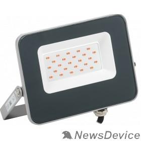 Прожекторы Iek LPDO7R-01-20-K03 Прожектор LED СДО 07-20R red КРАСНЫЙ IP65 серый