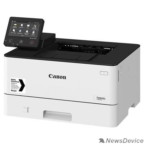 Принтер Canon i-SENSYS LBP228x (3516C006) A4, лазерный, 38 стр/мин ч/б, 1024 МБ, 1200x1200 dpi, Wi-F, Ethernet (RJ-45), USB