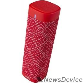 Колонки SVEN PS-115, красный (10 Вт, TWS, Bluetooth, FM, USB, microSD, 1800мА*ч)