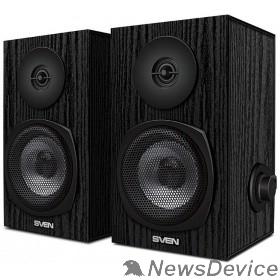 Колонки SVEN SPS-575 черный 6Вт, 80-20 000Гц, размеры 20*185*120
