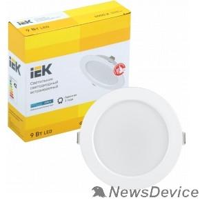Коммерческое освещение Iek LDVO0-1612-09-4000-K01 Светильник LED ДВО 1612 белый круг 9Вт 4000К IP20 пластик. корпус, диам 118 мм