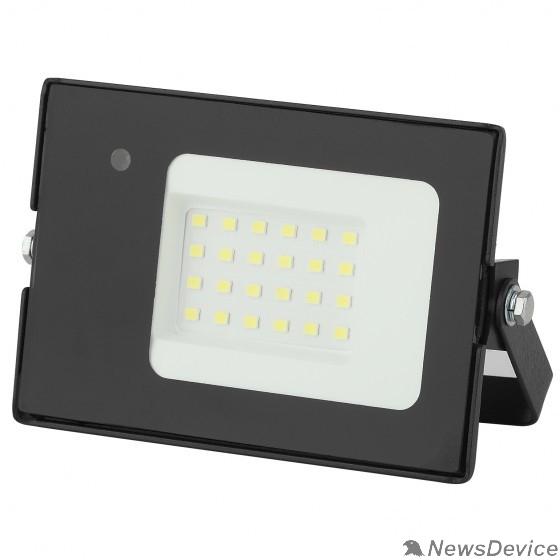 Прожекторы, светильники для уличного освещения ЭРА Б0043574 Прожектор светодиодный LPR-041-1-65K-020 20Вт 1400Лм 6500К датчик движ нерегулир