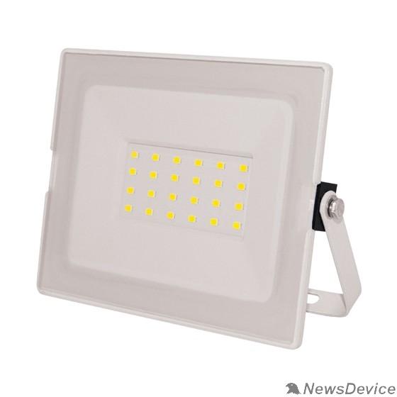 Прожекторы, светильники для уличного освещения ЭРА Б0043572 Прожектор светодиодный LPR-031-0-65K-050 50Вт 4000Лм 6500К 183x131x36 белый корпус