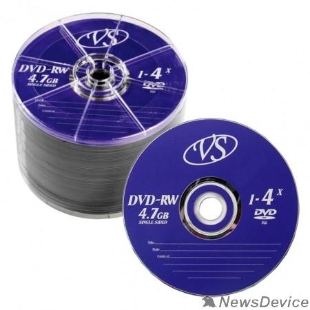 Диск Диски VS DVD-RW 4,7 GB 4x Bulk/50