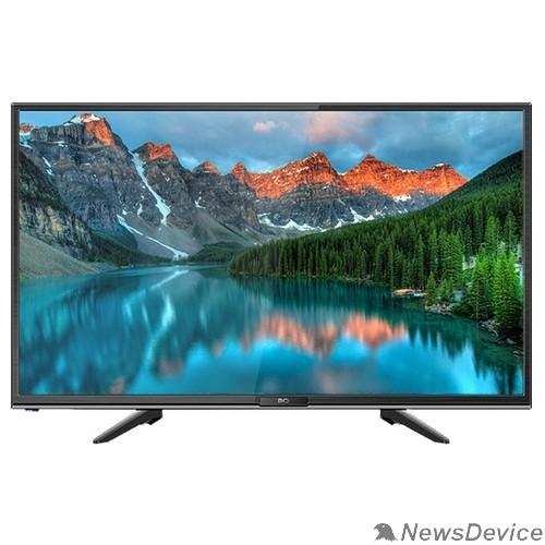 """LCD, LED телевизоры BQ BQ 2402B Black 23,6"""", 59,94 см, 1366х768, 180 cd/m2±10%, 1200:1, DVB-C/T/T2/S2, 1 HDMI, 1 USB, звук 2x3 Вт"""
