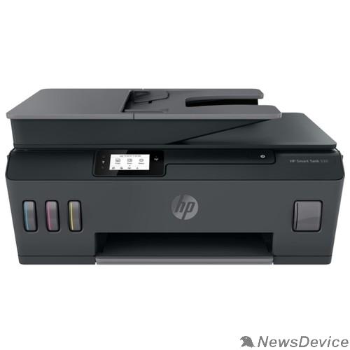 Принтер МФУ HP Smart Tank 530 (4SB24A) A4, 1200x1200dpi, 22 стр/мин (ч/б А4), 16 стр/мин (цветн. А4), 256 МБ, Wi-Fi, USB, Bluetooth