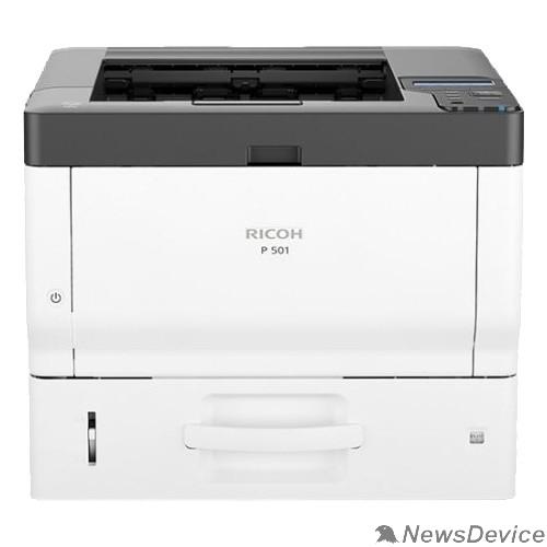 Принтер Ricoh P 501 Светодиодный принтер, A4, 2Гб, 43стр/мин, дуплекс, PS3, GigaLAN, старт.картр.6000стр.(418363)