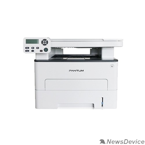 Pantum Pantum M6700DW МФУ лазерное, монохромное, двусторонняя печать, копир/принтер/сканер (цвет 24 бит), 30 стр/мин, 1200 x 1200 dpi, 128Мб RAM, лоток 250 стр, USB, RJ45, Wi-Fi, серый корпус