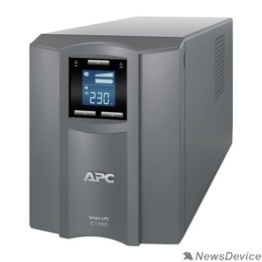 ИБП APC Smart-UPS C 1000VA SMC1000I-RS Line-Interactive, Tower, IEC, LCD, USB