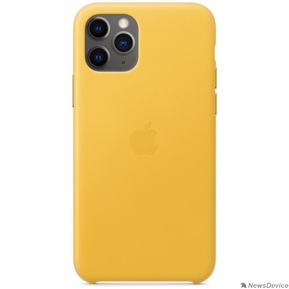 Аксессуар MWYA2ZM/A Apple iPhone 11 Pro Leather Case - Meyer Lemon