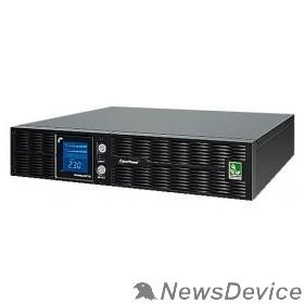 ИБП UPS CyberPower PLT1000ELCDRT2U 1000VA/900W USB/RS-232/EPO/SNMPslot (8 IEC С13)