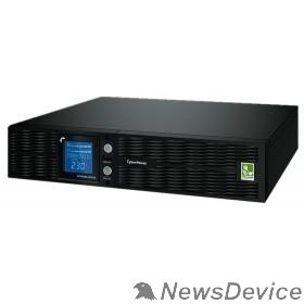ИБП UPS CyberPower PLT1500ELCDRT2U 1500VA/1350W USB/RS-232/EPO/SNMPslot (8 IEC С13)