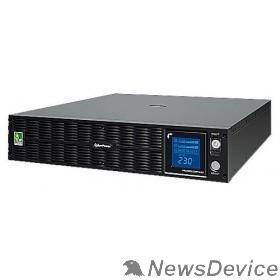 ИБП UPS CyberPower PLT3000ELCDRT2U 3000VA/2700W USB/RS-232/EPO/SNMPslot (8 IEC С13  IEC C19 x 1)