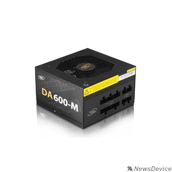 Блок питания Deepcool DA600-M 600W (ATX 2.31, 80+ Bronze, Модульный, 120 mm FAN PWM, Active PFC)