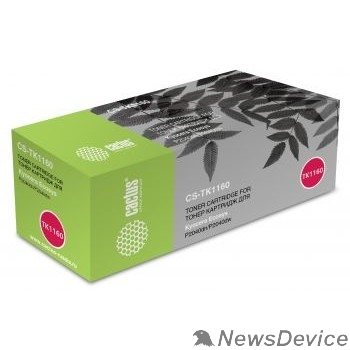 Расходные материалы Картридж Cactus CS-TK1160 черный (7200стр.) для Kyocera Ecosys P2040dn/P2040dw