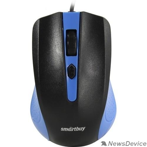 Клавиатуры, мыши Мышь проводная Smartbuy ONE 352 сине-черная SBM-352-BK