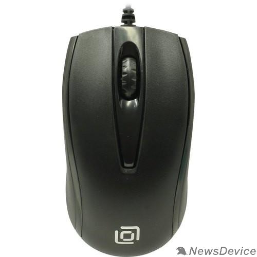Мышь Oklick 325M черный оптическая (1000dpi) USB (2but) 1091340