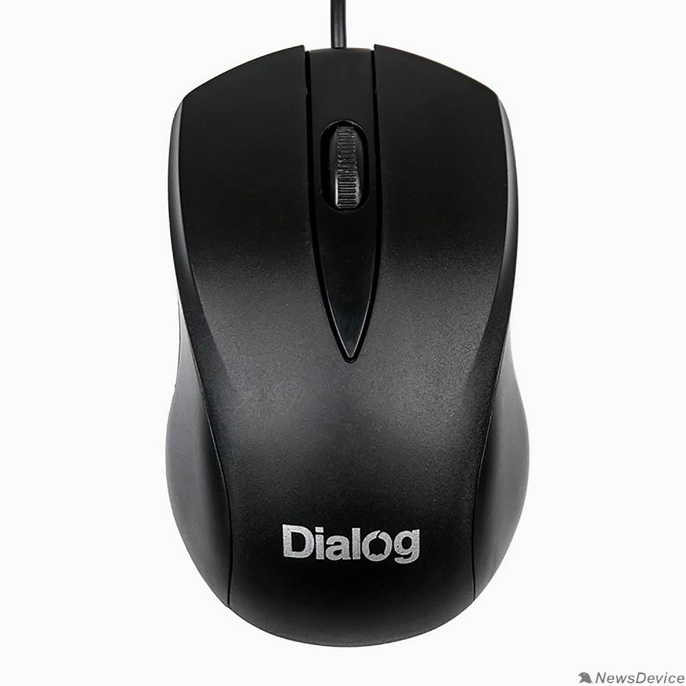 Мышь Мышь MOC-15U Dialog Comfort Optical - 3 кнопки + ролик прокрутки, USB