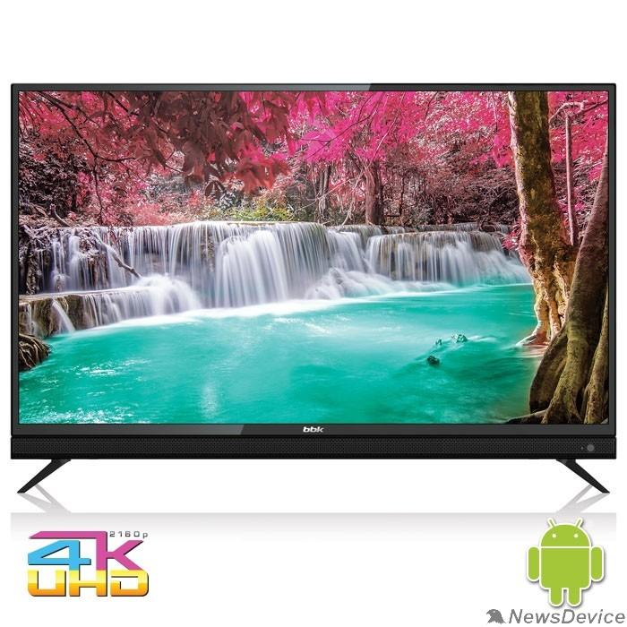 """Телевизор BBK 50"""" 50LEX-8161/UTS2C черный/Ultra HD/50Hz/DVB-T2/DVB-C/DVB-S2/USB/WiFi/Smart TV (RUS)"""