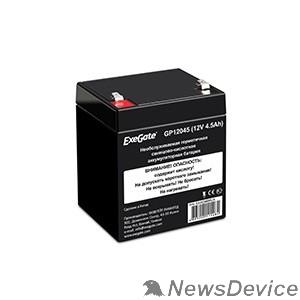 батареи Exegate EX282960RUS Аккумуляторная батарея GP12045 (12V 4.5Ah, клеммы F1)