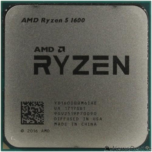 Процессор CPU AMD Ryzen 5 1600 OEM 3.2/3.6GHz Boost, 19MB, 65W, AM4 YD1600BBM6IAF