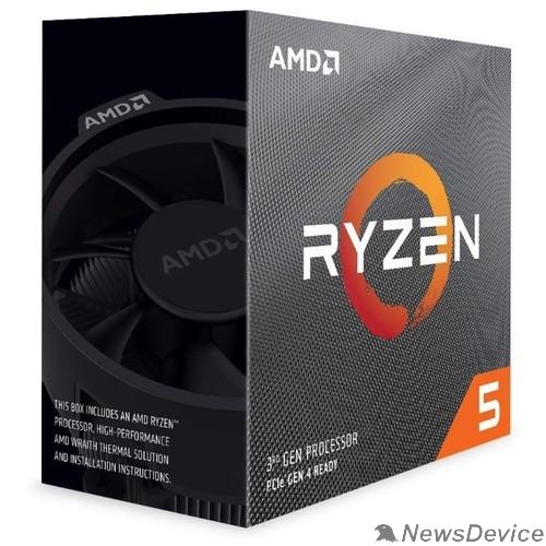 Процессор CPU AMD Ryzen 5 3600 BOX 3.6GHz up to 4.2GHz/6x512Kb+32Mb, 6C/12T, Matisse, 7nm, 65W, unlocked, AM4