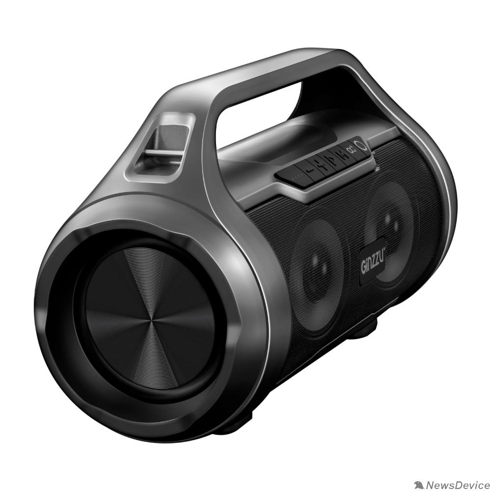 Колонки Ginzzu Ginzzu GM-984G, BT-Колонка 2x10W/TWS/USB/TFcard/AUX/FM/IPX5