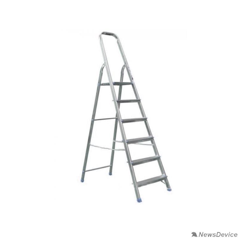 Лестницы, стремянки, верстаки REXANT (12-5043) Стремянка алюминиевая шесть ступенек