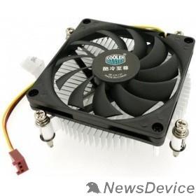 Вентилятор Cooler Master for Intel  H115 (DP6-8D1SA-B1)  Intel 115*, W, Al, 3pin, Ultra low profile