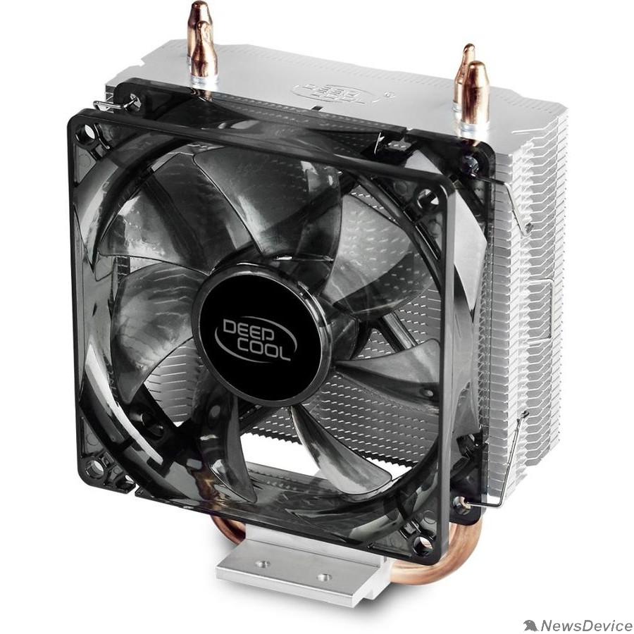 Вентилятор Cooler Deepcool GAMMAXX200 V2 Soc-FM2+/AM2+/AM3+/AM4/1150/1151/1155/ 4-pin 18-24dB Al+Cu 100W 326gr Ret