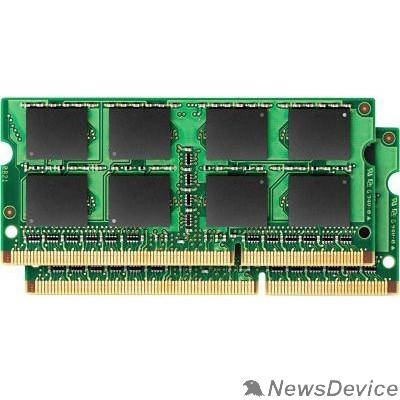 Модуль памяти Kingston SO-DIMM DDR3 8GB Kit (4Gx2) 1333MHz CL9 1Rx8 KVR13S9S8K2/8