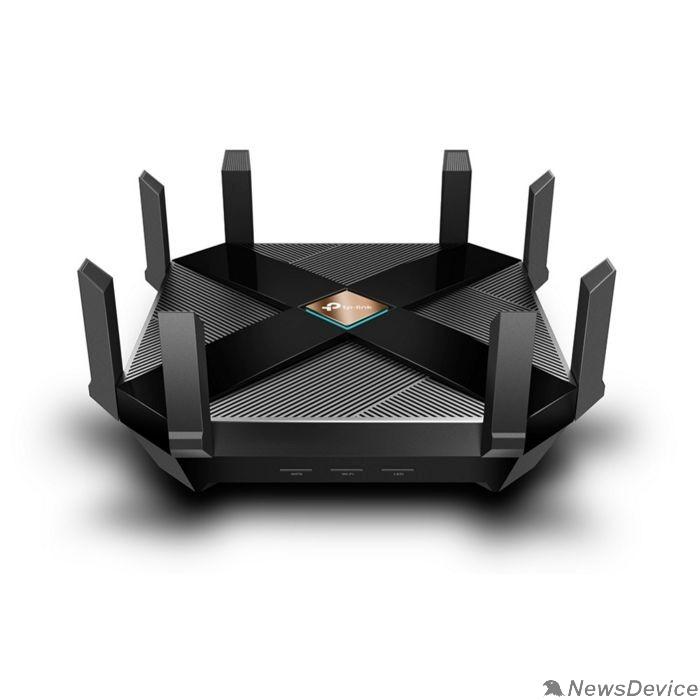 Сетевое оборудование TP-Link Archer AX6000 Трехдиапазонный Wi-Fi роутер, до 1148Мбит/с на 2 ГГц и до 4804Мбит/с на 5ГГц-1 и 4804Мбит/с на 5ГГц-2