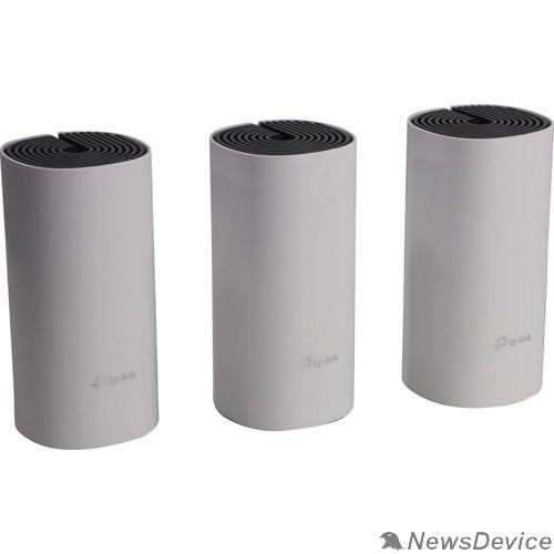 Сетевое оборудование TP-Link DECO E4(3-PACK) AC1200 Домашняя Mesh Wi-Fi система