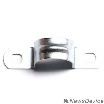 Аксессуары к гофрированным и жестким трубам. Dkc 53355R Держатель оцинкованный двусторонний, д.19 - 20мм