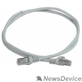 Патч-корды, Патч-панели ITK PC01-C5EF-05M-G Шнур коммутационный кат. 5Е FTP 0,5м серый GENERICA