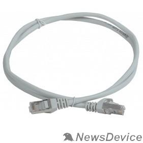 Патч-корды, Патч-панели ITK PC01-C5EF-1M-G Шнур коммутационный кат. 5Е FTP 1м серый GENERICA