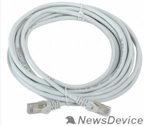 Патч-корды, Патч-панели ITK PC01-C5EF-5M-G Шнур коммутационный кат. 5Е FTP 5м серый GENERICA