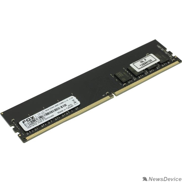 Модуль памяти Foxline DDR4 DIMM 8GB FL2666D4U19-8G PC4-21300, 2666MHz