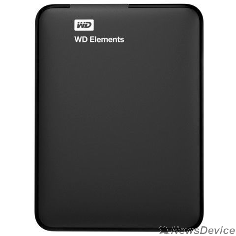 "Носитель информации WD Portable HDD 2Tb Elements Portable WDBMTM0020BBK-EEUE USB3.0, 2.5"", black"