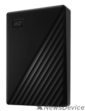 "Носитель информации WD My Passport WDBPKJ0040BBK-WESN 4TB 2,5"" USB 3.0 black"