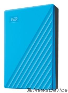 "Носитель информации WD My Passport WDBPKJ0040BBL-WESN 4TB 2,5"" USB 3.0 blue"
