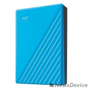 """Носитель информации WD My Passport WDBYVG0020BBL-WESN 2TB 2,5"""" USB 3.0 blue"""