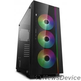 Корпус Deepcool MATREXX 55 V3 ADD-RGB 3F ATX, RGB strip, Стекл. фронтальная и боковая панели, 3RGB fans,Без БП